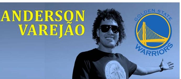 Anderson Varejão postou foto que confirma acerto em suas redes sociais (Foto: Reprodução/Facebook)