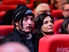 Helena Ranaldi vai com o namorado a festival de cinema
