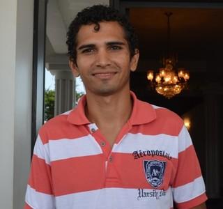 Jackson Cicarelli, presidente do Rio Negro-RR (Foto: Herianne Cantanhede/GloboEsporte.com/RR)