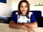 Quase cega, menina luta por cirurgia de correção há três anos, em Goiás