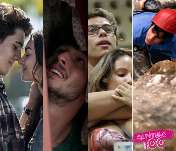 #Capítulo100 é sucesso! (Foto: TV Globo)