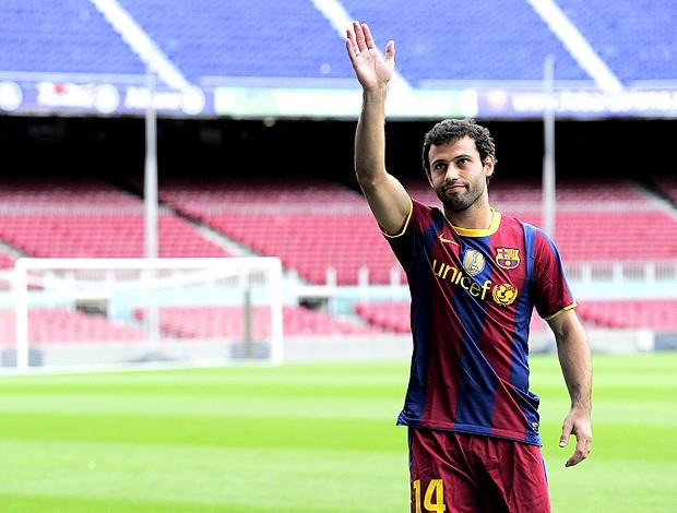 Mascherano Barcelona (Foto: AFP)