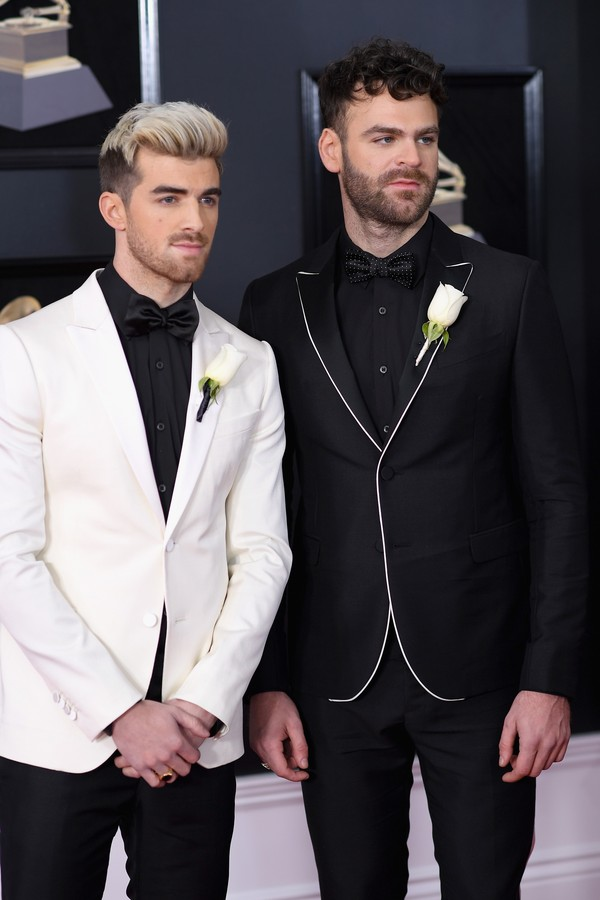 The Chainsmokers no Grammy 2018 (Foto: getty images)
