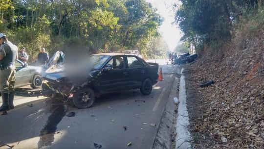 Morre segunda vítima de acidente na rodovia MG-446, no Sul de MG