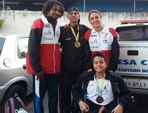 Natação ACD, Presidente Prudente, Jogos Abertos, atletas com deficiência, natação (Foto: Semepp / Divulgação)