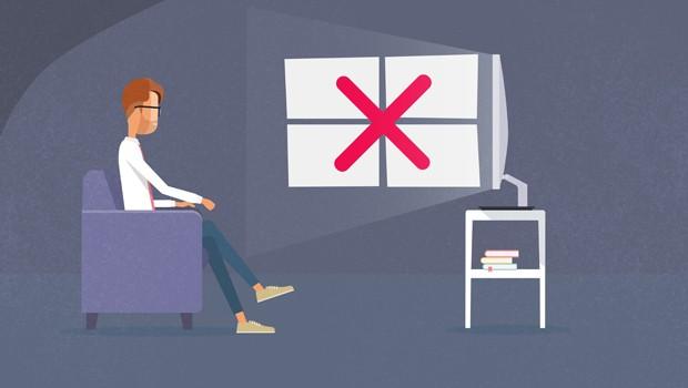 Que tal assista a sua TV sem reflexos?  (Foto: Divulgação/RPC)