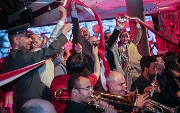 Cerimônia apresenta detalhes da inauguração do novo Beira-Rio (Foto: Jefferson Bernardes/Agência Preview, Divugação)