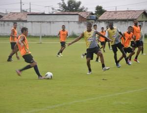 Treinamento do Mixto (Foto: Robson Boamorte/GLOBOESPORTE.COM)