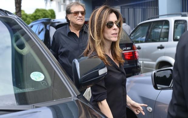 Dennis Carvalho e Deborah Evelyn (Foto: André Muzzel/Agnews)