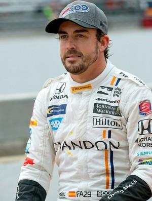 Fernando Alonso nas 500 Milhas de Indianápolis