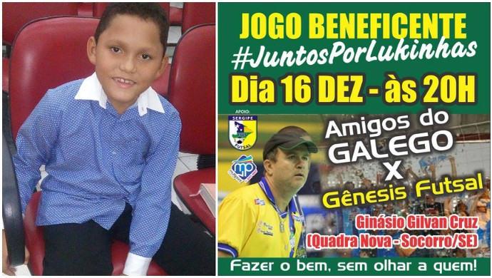 Galego, jogo beneficente (Foto: Divulgação/Marca Assessoria)