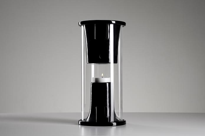 Pelty usa vela para reprodução de músicas (Foto: Divulgação/Pelty)