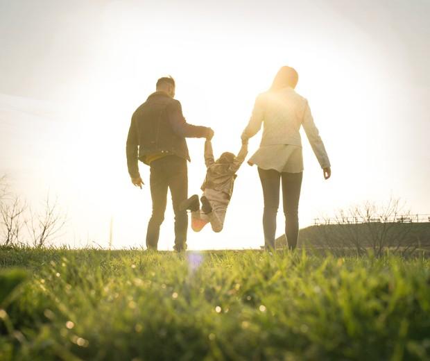Família feliz (Foto: Thinkstock)