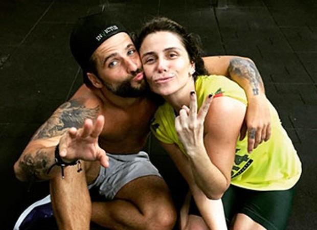 Bruno Gagliasso e Giovanna Antonelli: parceria no crossfit (Foto: Reprodução/Instagram)