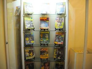 Exemplares de revista estão entre os itens à mostra em Teresópolis (Foto: Divulgação/Ascom Prefeitura de Teresópolis/Roberto Ferreira)