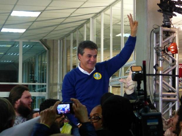 Beto Richa (PSDB) foi reeleito Governador do Paraná (Foto: Bibiana Dionísio / G1)