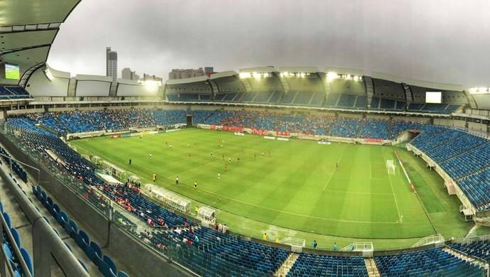 América-RN x ABC, na Arena das Dunas - público (Foto: Alexandre Lago)