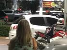 Tentativa de assalto causa pânico em praça de alimentação, em Manaus