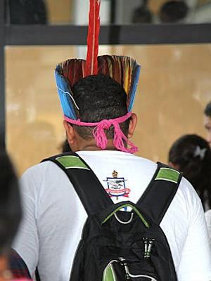 Candidatos indígenas e quilombolas irão disputar vagas neste domingo (3) no Processo Seletivo Especial (PSE) 2014 da UFPA e da Universidade Federal do Sul e Sudeste do Pará (Unifesspa). (Foto: Alexandre Moraes/UFPA)