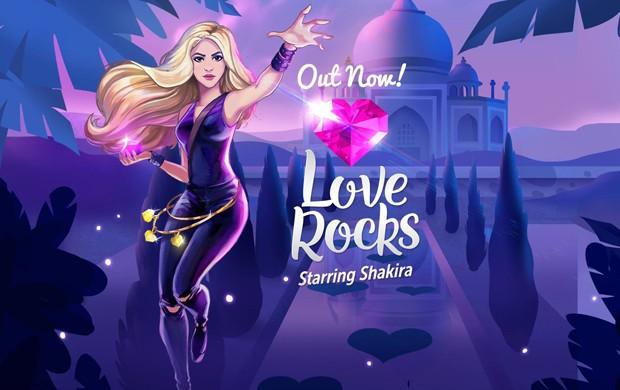 Shakira lança 'Love Rocks', game de celular desenvolvido pela Rovio (Foto: Divulgação)