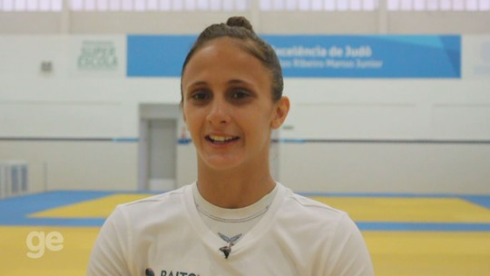 Gilmara Prudêncio comemora vaga na seleção brasileira de judô; veja vídeo
