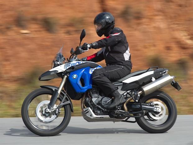 F 800 GS Trophy garante posicionameto confortável para o motociclista (Foto: Flavio Moraes/G1)