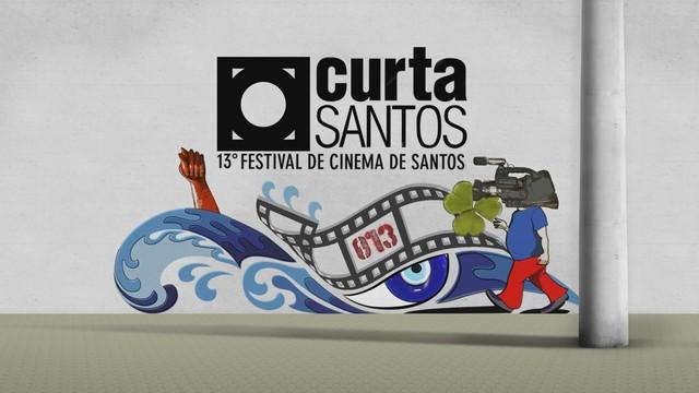 13ª edição do Festival Curta Santos (Foto: Reprodução/TV Tribuna)