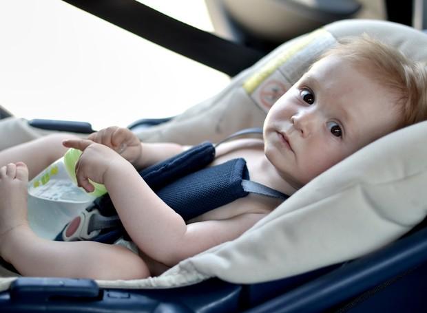 Cadeirinha de carro (Foto: Shutterstock)