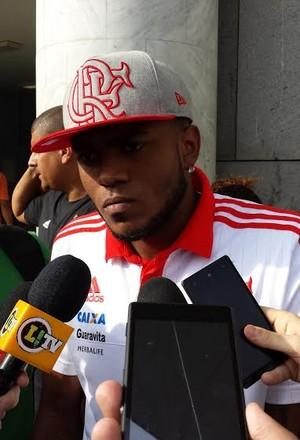 Marcelo Cirino Flamengo (Foto: Fred Gomes/ GloboEsporte.com)