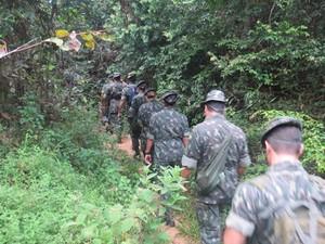 Exército Jacareacanga (Foto: Divulgação/Ten. Coronel Helder Queiroz)