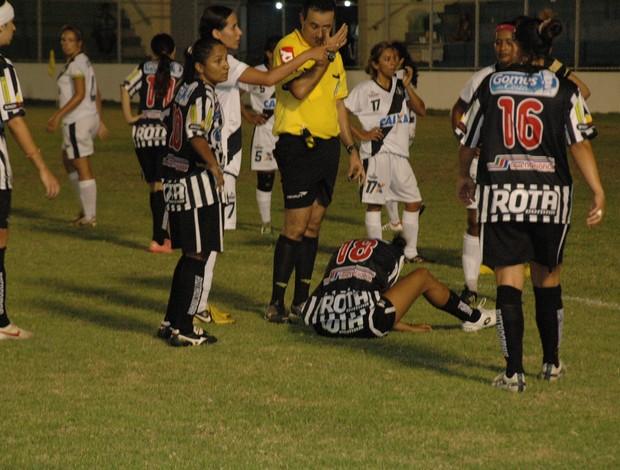 Botafogo-PB e Mixto, Campeonato Brasileiro Feminino (Foto: Severino Martins/TV Cabo Branco)