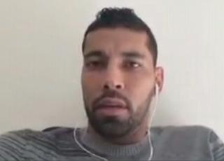 André Santos revela que não sairá do Flamengo mesmo após agressão (Foto: Reprodução SporTV)