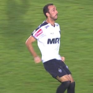 Thiago Ribeiro atacante Atlético-MG (Foto: Reprodução / TV Globo Minas)
