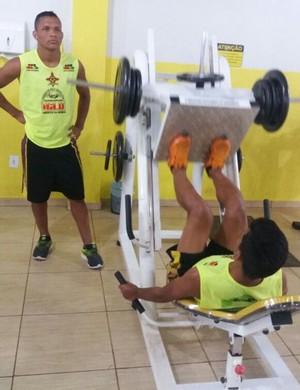 Atletas do sub-20 do Genus são treinados para atuarem no Profissional  (Foto: Deutz Costa/ arquivo pessoal )