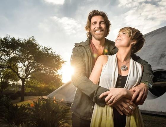 Reynaldo Gianecchini e Claudia Abreu são Pedro e Helô, o principal casal de A lei do amor (Foto: Ramon Vasconcellos/ TV Globo)