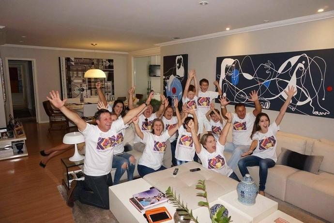 Família Rafa Gomes The Voice Kids (Foto: Arquivo pessoal)