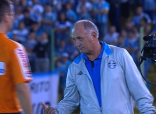 Grêmio Felipão Ypiranga  (Foto: Reprodução/RBS TV)
