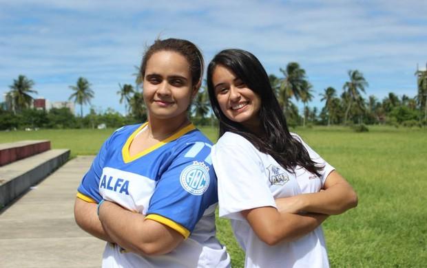 Marcelle Eloy e Kitty Lima Confiança Alfa (Foto: Carol Monteiro/Confiança Alfa)
