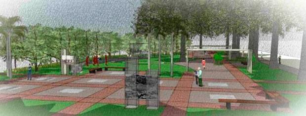Construtora quer aproveitar história do local para criar área de convivência (Foto: Reprodução/Melnick Even)