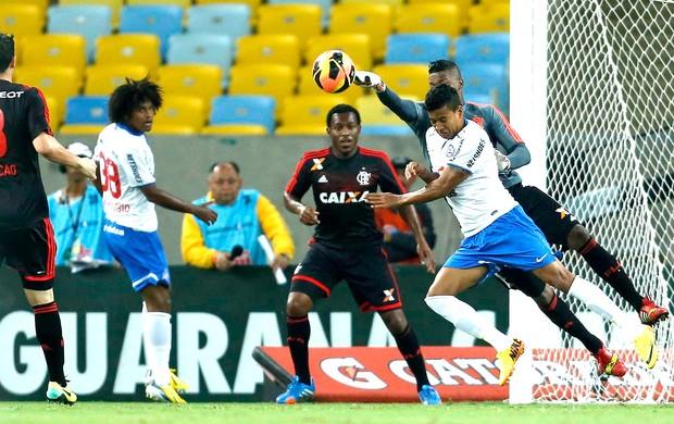 Felipe jogo Flamengo e Bahia (Foto: Alexandre Cassiano / Agência O Globo)