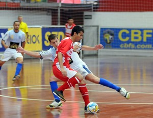 Maycon, ala do futsal do América-RN (Foto: Luciano Bergamaschi/CBFS)