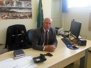 Cláudio Dornelas Delegado Polícia Federal JF (Foto: Roberta Oliveira/G1)