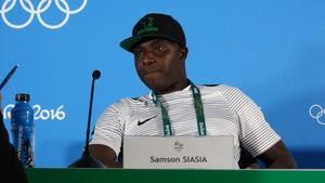Samson Siasia; treinador da Nigéria (Foto: Maurício Paulucci)