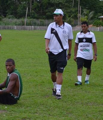 Éverton Goiano vai fazer sua estreia com o São Raimundo neste sábado (12) em duelo com Águia de Marabá (Foto: Dominique Cavaleiro/ GloboEsporte.com)