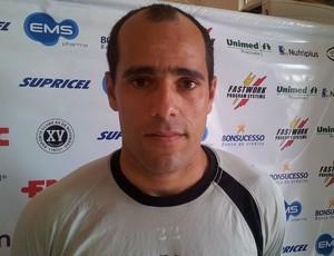 Givanildo - meia do XV de Piracicaba (Foto: Guto Marchiori/Globoesporte.com)