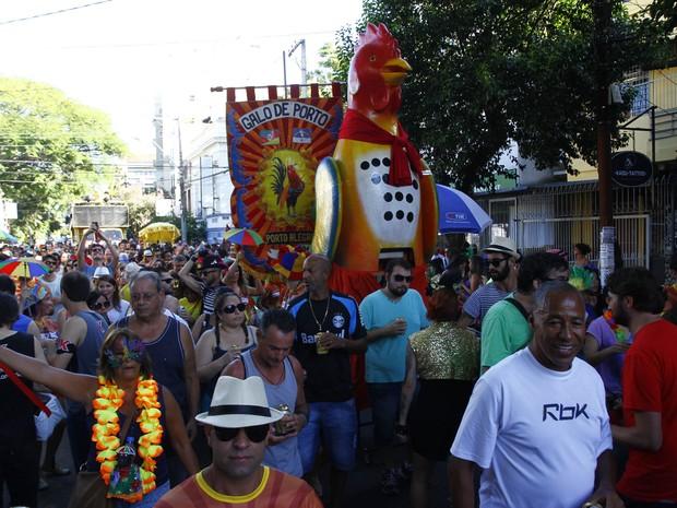 Carnaval de rua em Porto Alegre rueniu 30 mil foliões no sábado (7) (Foto: Ricardo Giusti/PMPA)