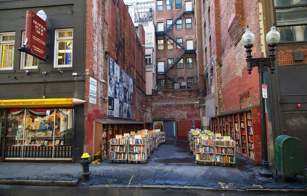Brattle Bookshop - Boston, Estados Unidos (Foto: Reprodução)