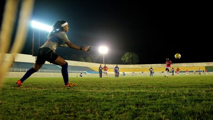 atlético-ac x são josé-sp copa do brasil futebol feminino florestão (Foto: João Paulo Maia)