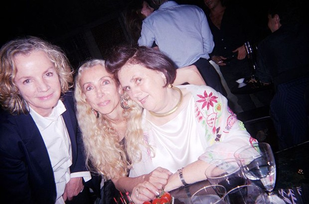 Franca with Jill Sander and Suzy (Foto: Suzy Menkes)
