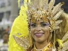 Caroline Marins, rainha da Paraíso do Tuiuti revela truque para evitar tombo